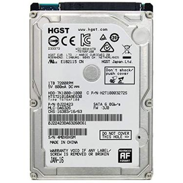HD Notebook - 1.000GB (1TB) / 7.200RPM / SATA3 - Hitachi Travelstar 7K1000 - HTS721010A9E630