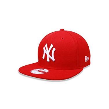 Imagem de BONE 9FIFTY ORIGINAL FIT MLB NEW YORK YANKEES ABA RETA SNAPBACK VERMELHO New Era