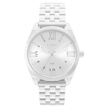 4837a419bd7 Relógio Euro Recortes EU2035YNH 3K Prata feminino
