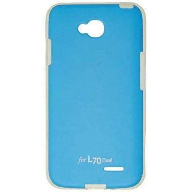 b227020ca4a Capa Protetora Jellskin Azul Claro L70 Dual, Voia, Capa com Proteção  Completa (Carcaça