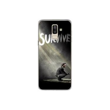 Capa para Galaxy J8 - The Walking Dead   Survive