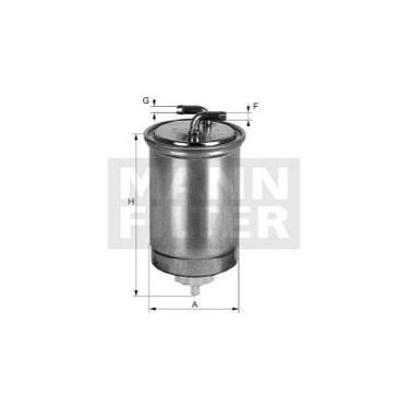 Filtro de Combustível MANN WK853/15 equivalente ao WEGA FCD2062