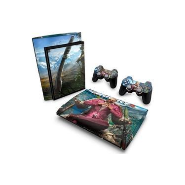 Skin Adesivo para PS3 Super Slim - Far Cry 4