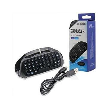 Teclado Wireless Bluetooth Para Controle Slim/Pro Ps4 - Dobe