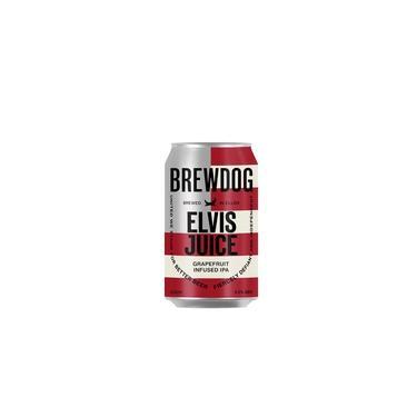 Cerveja Escocesa Brewdog Elvis Juice lata 330ml