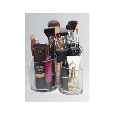Porta Maquiagem Acrílico - Organizador Cosmético 1202