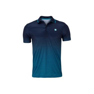 Camisa Polo Fila Aztec Box Net - Masculina Fila Masculino