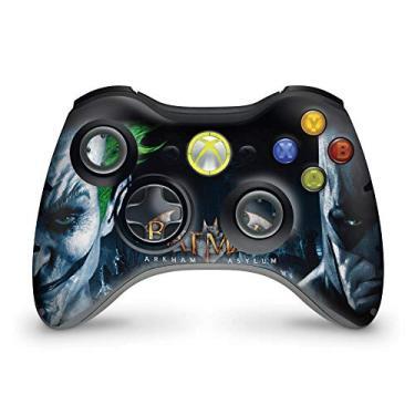 Skin Adesivo Para Xbox 360 Controle - Batman Arkham Asylum