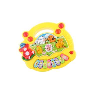 Casa De Aprendizagem Do Brinquedo Da Atividade Das Crianças, Jogos Das Luzes Da Música, Tipo Animal 3 Da Forma