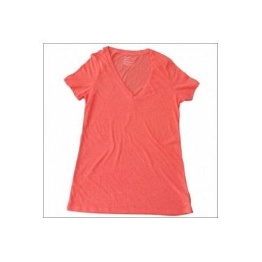camiseta feminina american eagle tamanho gg laranja