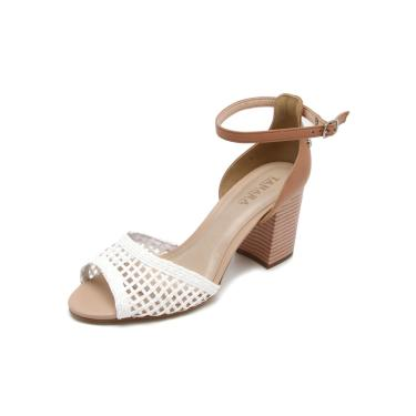 e87eb360b Sandália Salto Tanara | Moda e Acessórios | Comparar preço de ...