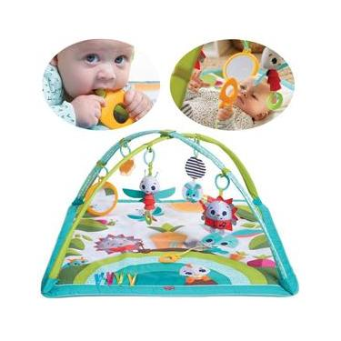 Imagem de Tapete de Atividades Bebê Infantil Criança Chocalho A Partir dos 2 Meses Gymini Meadow Days Tiny Love