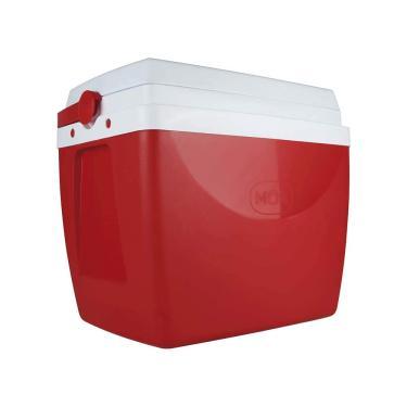 Imagem de Caixa Térmica 34 Litros Mor Vermelha