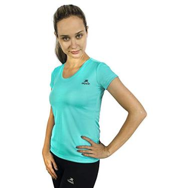 Camiseta Color Dry Workout Ss - Muvin - Cst-400 - Azul Claro - M