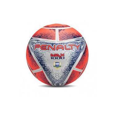 Bola de Futsal Profissional Max 1000 Termotec Alaranjada penalty 4a52fa7a83863