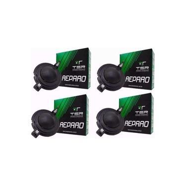 Kit Com 4 Reparos Driver Corneta Orion Trio Tsr5200 Som
