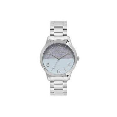 668512da34b Relógio Condor Feminino Eterna Bracelete Prata - CO2035KWB 3A