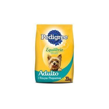 Ração Pedigree Equilíbrio Natural Para Cães Adultos De Raças Pequenas - 20 Kg