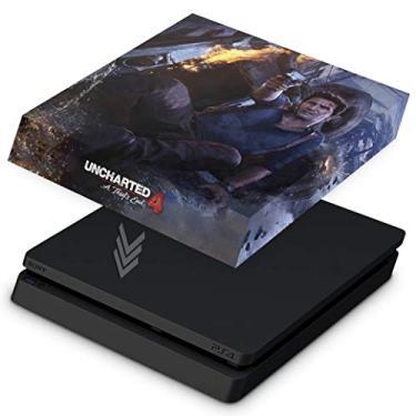 Capa Anti Poeira para PS4 Slim - Uncharted 4