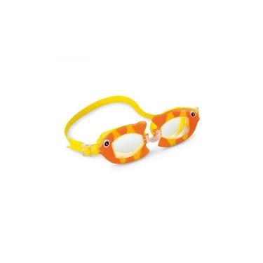 Imagem de Óculos de Natação Infantil Bichinhos Animados Peixe Intex
