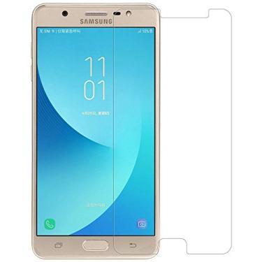 [2 unidades] Protetor de tela para Samsung Galaxy On Max, protetor de tela de vidro temperado antiarranhões HD transparente para Samsung Galaxy On Max de 5,7 polegadas