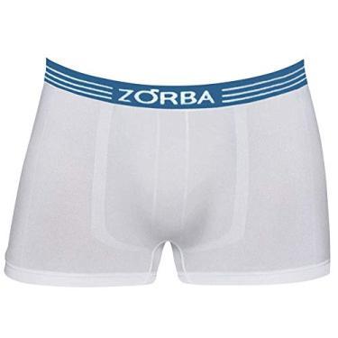 Cueca Zorba Boxer Extreme Microfibra 832 P Branco
