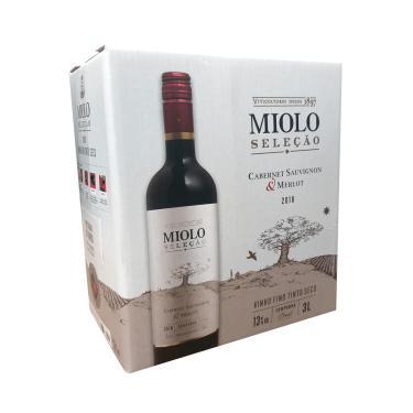 Vinho Miolo Seleção Cabernet/Merlot Bag 3 Litros