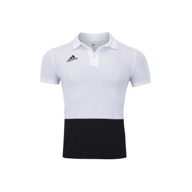 Camisa Polo adidas Condivo 18 - Masculina - BRANCO PRETO adidas a22b0e0b9c650