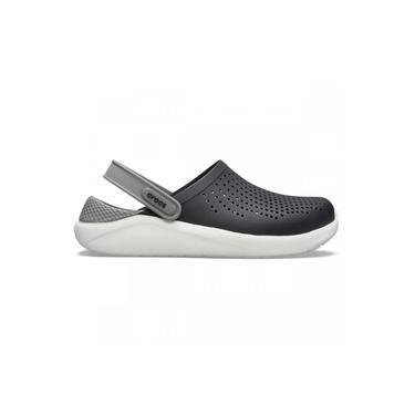 Sandalia Crocs Literide Clog - Preto + Cinza