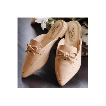 Sapato Mule Sua Cia Mini Verniz Natural Infantil 9026-50463