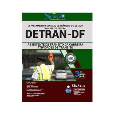 Imagem de Apostila Detran Df - Assistente De Trânsito Da Carreira