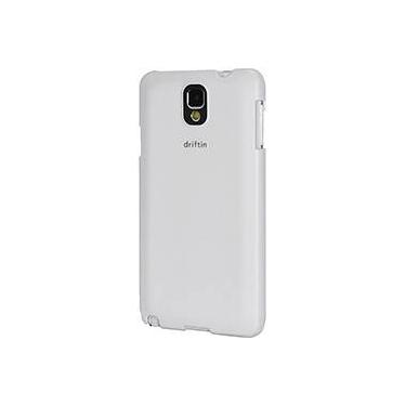 Capa para Celular para Galaxy Note 3 em Acrílico Emborrachado Branca - Driftin