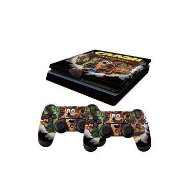 Skin PS4 Slim Crash Bandicoot
