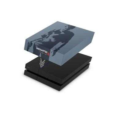 Capa Anti Poeira para PS4 Fat - Uncharted 4 Limited Edition