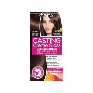 Imagem de Tonalizante Casting Creme Gloss 400 Castanho Natural L'Oréal 1 Unidade