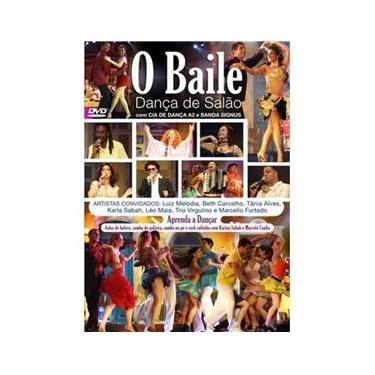 Imagem de Dvd o Baile Dança de Salão - Diversos Nacionais