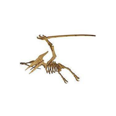 Imagem de Quebra Cabeça 3d Dinossauro Piterodáctilo Mdf