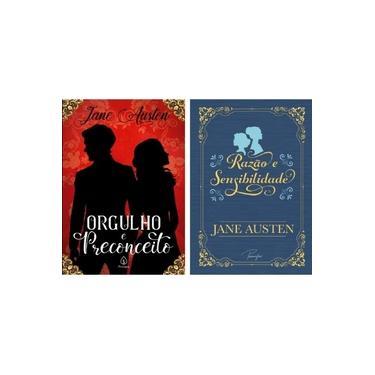 """Imagem de Kit com 2 livros """"Orgulho e preconceito"""" + """"Razão e sensibilidade"""" - Jane Austen"""