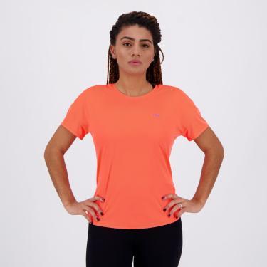 Camiseta Fila Basic Sports Feminina Laranja - EG
