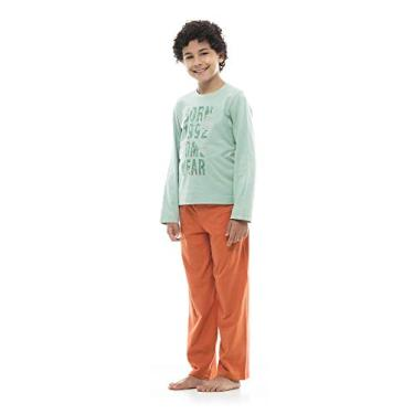 Pijama infantil manga longa e calça Sonhart