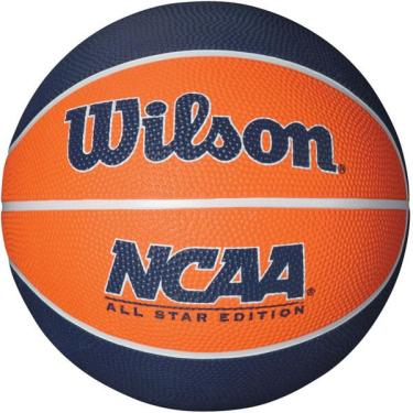 Bola de basquete Ncaa Mini N.3 Azul Laranja Wilson 155a0a6287058