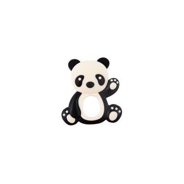 Imagem de Mordedor infantil de uso seguro Silicone de grau alimentício Animal Panda Brinquedos de dentição faça você mesmo