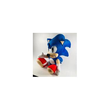 Imagem de Pelucia Sonic Boneco Filme Brinquedo Grande Fofo 48 Cm