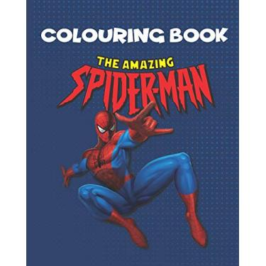 The Amazing Spider-man Coloring Book