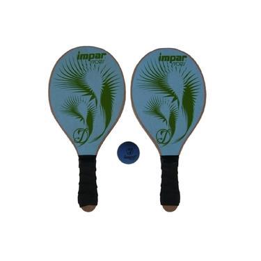 Kit Frescobol de Praia Impar Sports + Bolinha