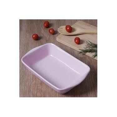 Imagem de Travessa Retangular Pequena Rosa - La Cuisine