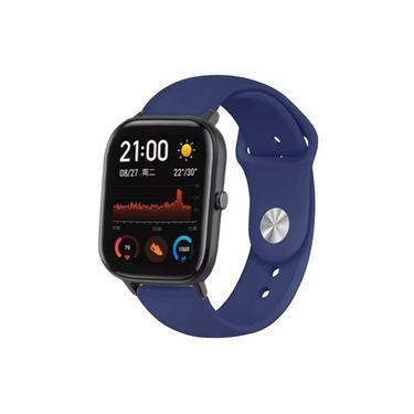 Pulseira de Silicone Sport de Reposição Para Smartwatch Xiaomi Amazfit Bip Gts Gtr Huami Relógio Inteligente Colorido e samsung galaxy watch