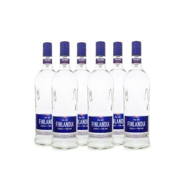 Combo Vodka Finlandia 1L - 6 Garrafas