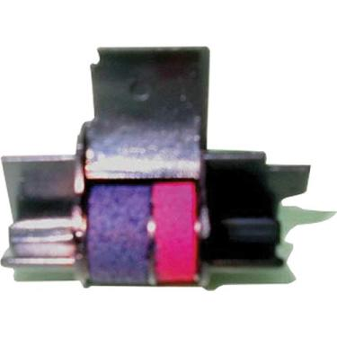 Rolete Entintador Bicolor Cs1009/Ir40t, Colorprint, 513, Preto/ Vermelha