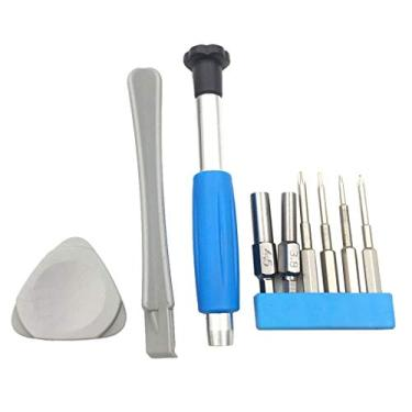 angwang 1 conjunto de chaves de fenda, kit de ferramentas de reparo para Nintendo Switch New 3DS Wii U NES SNES DS Lite GBA Gamecube
